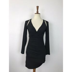 StyleStalker Cut Outs Stretch Mini Dress
